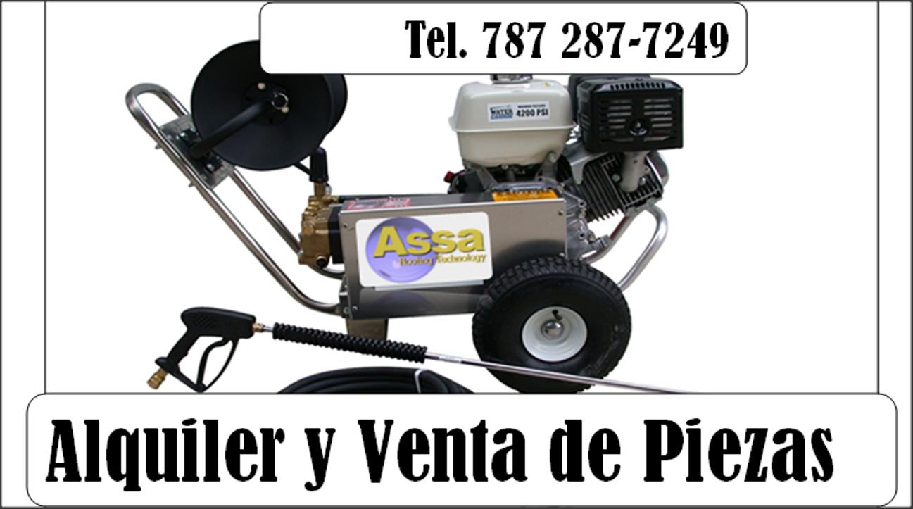 Alquiler de Maquinas de Lavar a Presión (Guaynabo) 1
