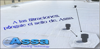 Techos industriales: roofing INDEX Mineral 5k de ASSA 6