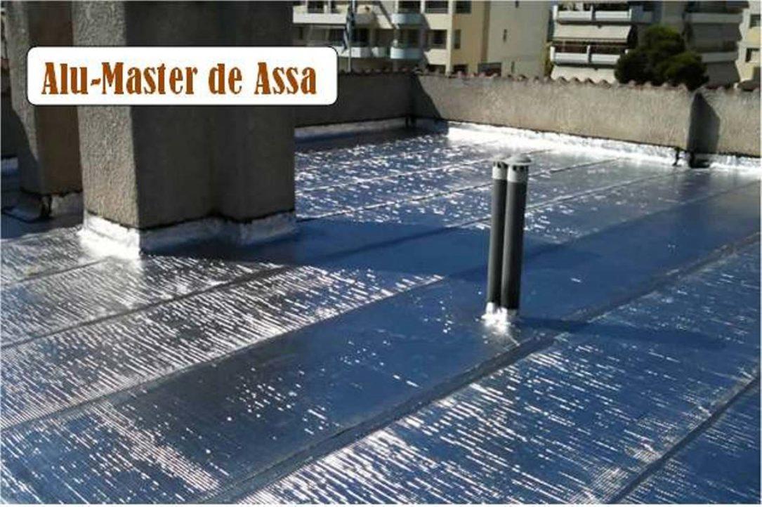 Sistema de sellado de techos
