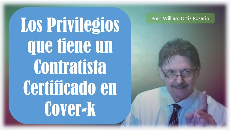 El Privilegio de estar en Cover-k